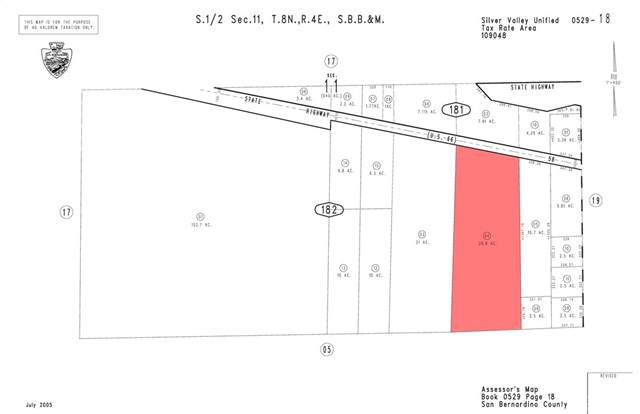 0 Center Rd, Newberry Springs, CA  (#CV19247936) :: Sperry Residential Group