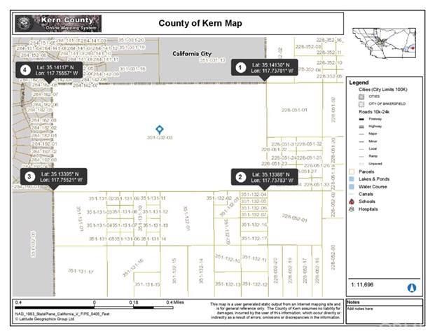 1 See Parcel, California City, CA  (#OC19249371) :: Provident Real Estate