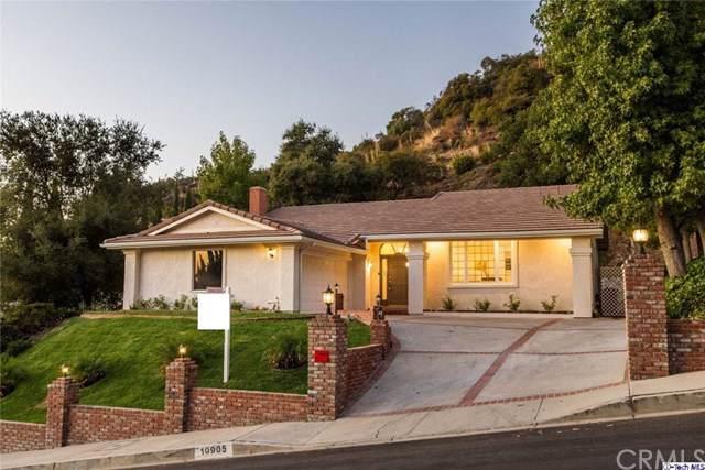 10905 Terecita Road, Tujunga, CA 91042 (#319004226) :: The Brad Korb Real Estate Group