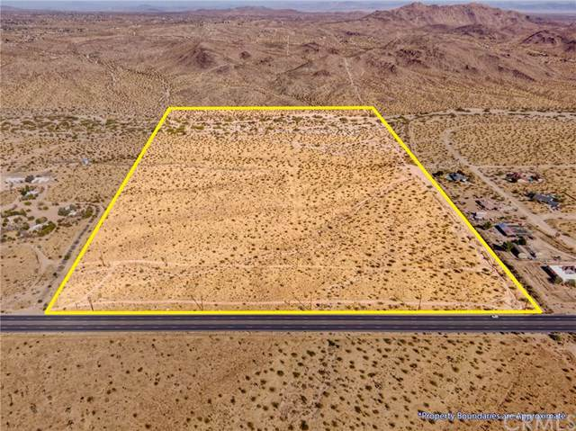 0 Twentynine Palms Hwy, Joshua Tree, CA 92252 (#JT19254279) :: RE/MAX Empire Properties