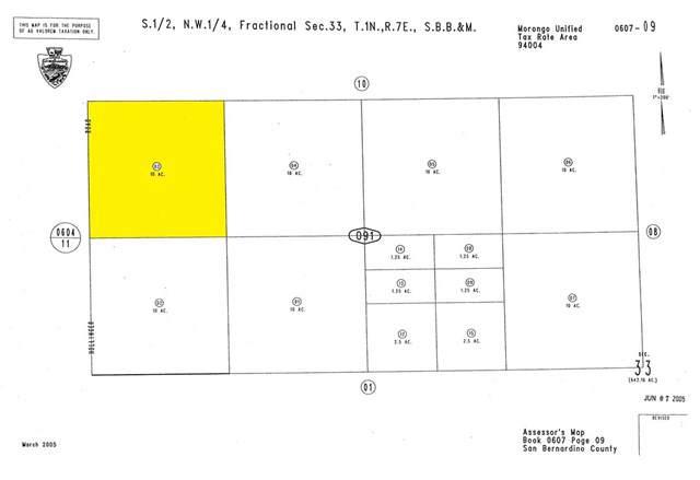 0 Cottonwood Drive, Joshua Tree, CA 92252 (#SW19256226) :: Legacy 15 Real Estate Brokers