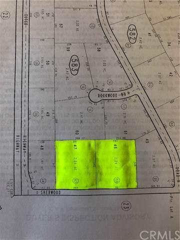 0 Sherwood Road, Joshua Tree, CA  (#SW19259221) :: Legacy 15 Real Estate Brokers