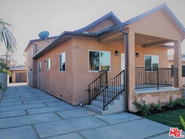 232 E 67TH Street, Los Angeles (City), CA 90003 (#19525600) :: Allison James Estates and Homes