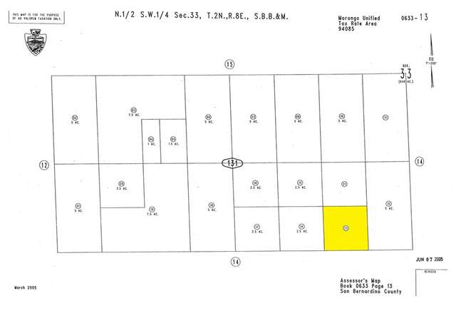 0 Rainer Road, 29 Palms, CA 92277 (#SW19260513) :: RE/MAX Empire Properties