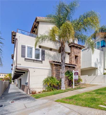 931 1st Street B, Hermosa Beach, CA 90254 (#SB19229555) :: The Miller Group