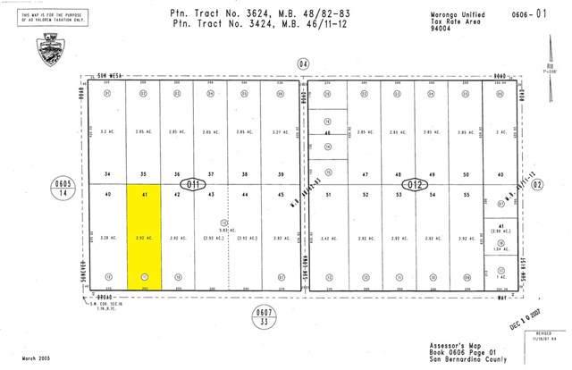 0 Broad Way, Joshua Tree, CA 92252 (#SW19260553) :: Legacy 15 Real Estate Brokers
