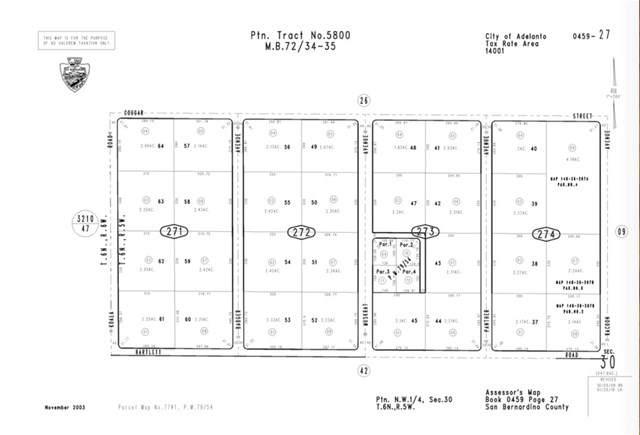 0 Apn 0459-272-01-0000, Adelanto, CA  (#PW19260895) :: Rogers Realty Group/Berkshire Hathaway HomeServices California Properties