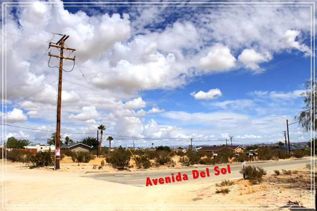 0 Avenida Del Sol, Joshua Tree, CA 92252 (#219033632PS) :: J1 Realty Group