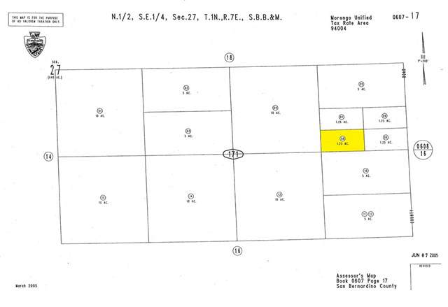 0 Near Cascade Road, 29 Palms, CA 92277 (#SW19262550) :: Sperry Residential Group