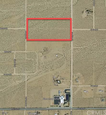 0 Cambria Avenue, Landers, CA 92285 (#TR19263331) :: Steele Canyon Realty