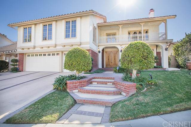 18406 Chatham Lane, Porter Ranch, CA 91326 (#SR19264157) :: Fred Sed Group