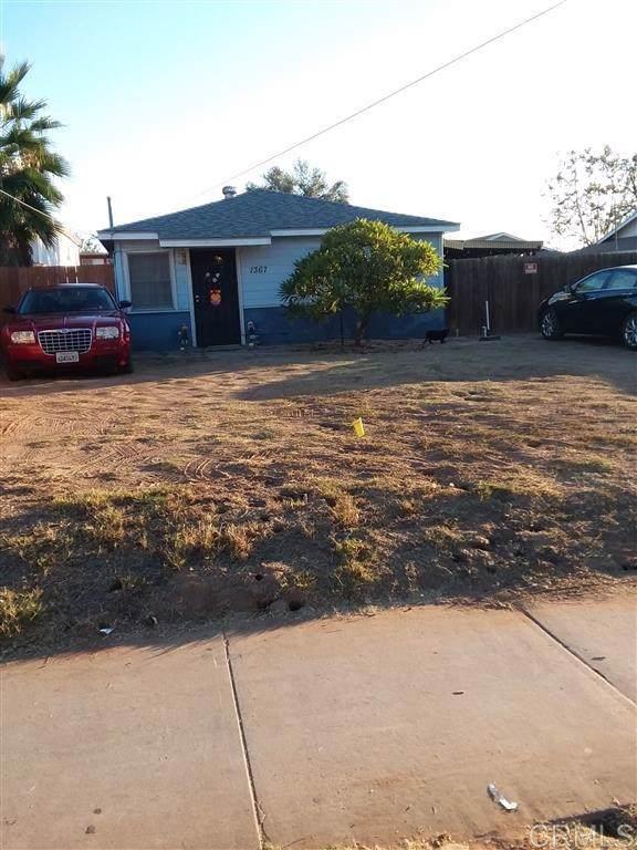 1367 E Madison Ave, El Cajon, CA 92021 (#190061321) :: Fred Sed Group