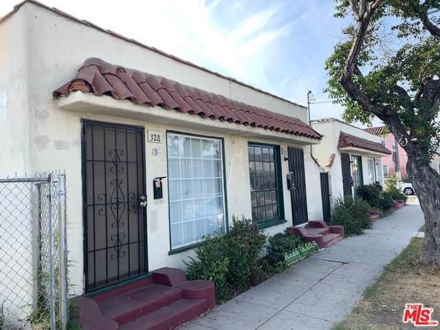 316 W 39TH Street, Los Angeles (City), CA 90037 (#19530306) :: Keller Williams Realty, LA Harbor