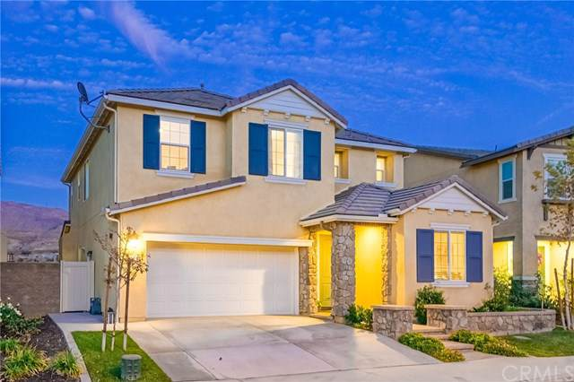 25430 Temescal Valley Lane, Corona, CA 92883 (#CV19266589) :: The Danae Aballi Team