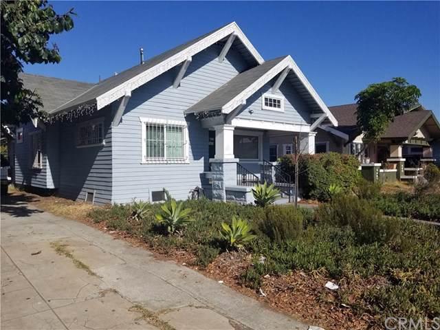 1321 W 46th Street, Los Angeles (City), CA 90037 (#CV19267285) :: The Parsons Team