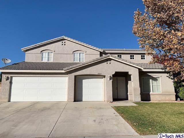 2029 W Avenue J13, Lancaster, CA 93536 (#319004610) :: The Miller Group