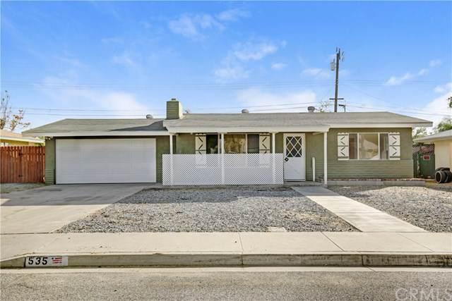 535 Fern Place, Hemet, CA 92543 (#IG19267590) :: The Laffins Real Estate Team