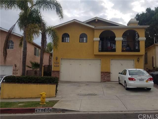 4706 W 168th Street, Lawndale, CA 90260 (#SB19268205) :: Millman Team