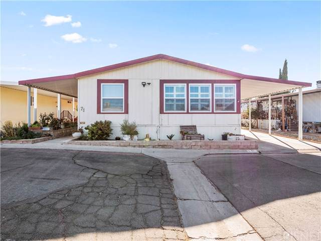 2330 East Ave J8 #71, Lancaster, CA 93535 (#SR19268412) :: RE/MAX Masters