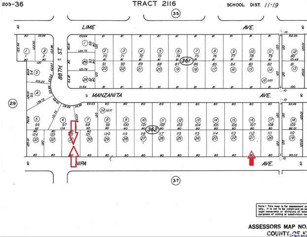 0 Nipa Street, California City, CA 93505 (#319004643) :: Berkshire Hathaway Home Services California Properties