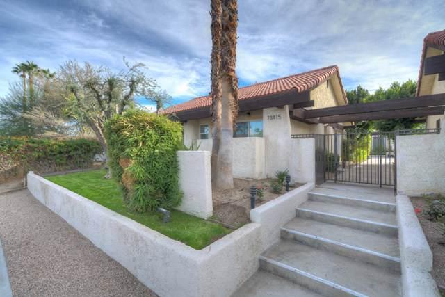 73415 Shadow Mountain Drive #4, Palm Desert, CA 92260 (#219034318DA) :: J1 Realty Group