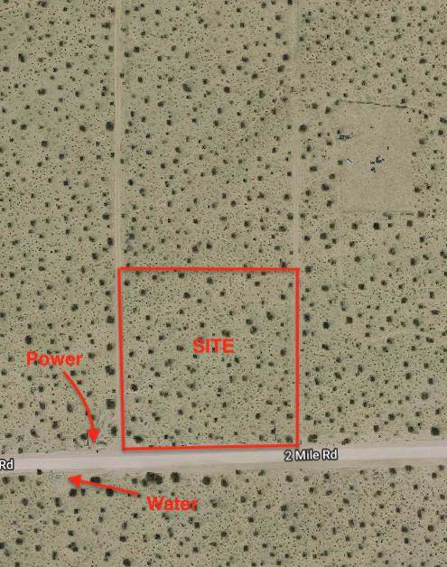 0 Two Mile Road, Joshua Tree, CA 92252 (#219034347PS) :: Go Gabby