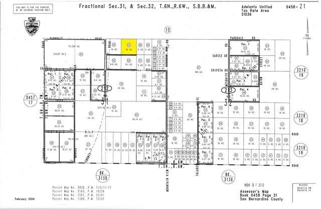 0 Parkdale, Adelanto, CA  (#SW19272666) :: Millman Team