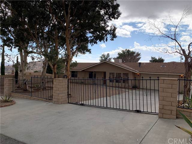 49037 Park Avenue, Morongo Valley, CA 92256 (#JT19272672) :: Sperry Residential Group