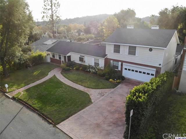 4641 Hampton Road, La Canada Flintridge, CA 91011 (#319004790) :: Fred Sed Group