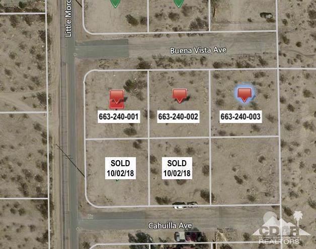 0 3 Lots Little Morongo, Desert Hot Springs, CA 92241 (#219034981DA) :: The Laffins Real Estate Team