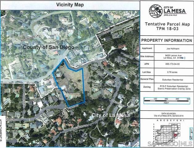 0 El Dorado Lane, La Mesa, CA 91941 (#190064201) :: Millman Team