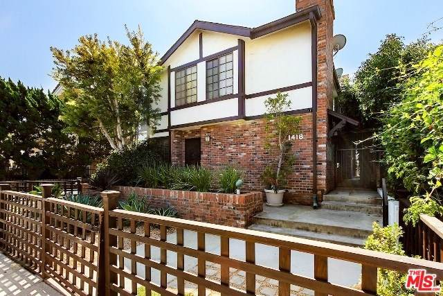 1418 26TH Street #4, Santa Monica, CA 90404 (#19536100) :: Sperry Residential Group
