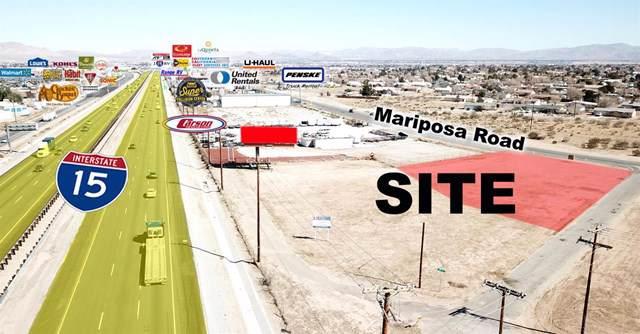 0 Mariposa Road, Hesperia, CA 92345 (#520272) :: The Brad Korb Real Estate Group