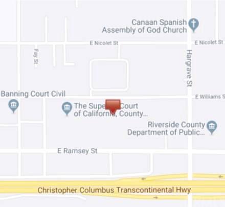0 Williams, Banning, CA  (#OC19279988) :: Crudo & Associates