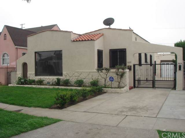 644--646 E 73rd Street, Los Angeles (City), CA 90001 (#AR19280278) :: Millman Team