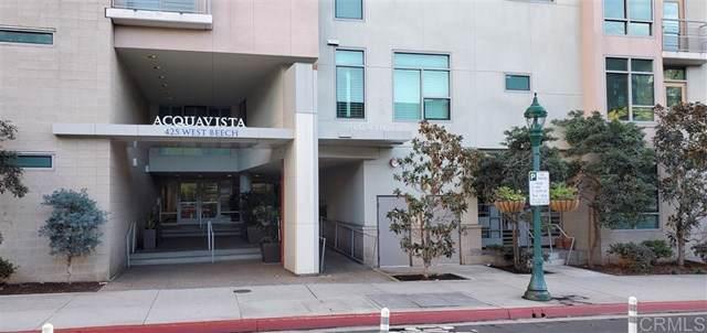 425 W W Beech St #214, San Diego, CA 92101 (#190065011) :: Sperry Residential Group
