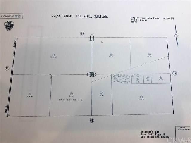 0 Bullion Mountain Road, 29 Palms, CA 92277 (#AR19285388) :: The Brad Korb Real Estate Group