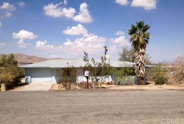61514 Crest Circle Drive, Joshua Tree, CA 92252 (#SW20000475) :: Allison James Estates and Homes
