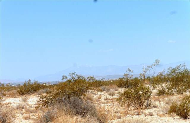 0 Off Gammel Road, 29 Palms, CA  (#JT20000629) :: Sperry Residential Group