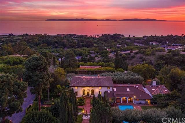100 Vanderlip Drive, Rancho Palos Verdes, CA 90275 (#SB20000819) :: Millman Team