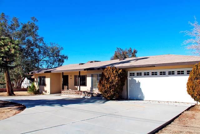 57676 Pueblo Trail, Yucca Valley, CA 92284 (#219036305DA) :: Allison James Estates and Homes