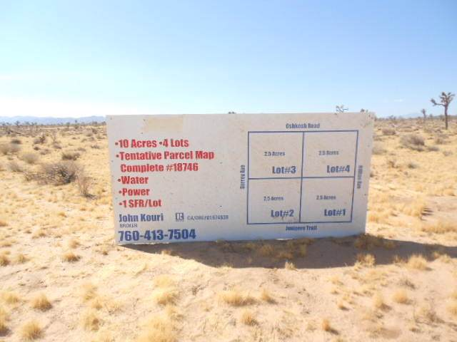 0 Junipero Trail, Yucca Valley, CA 92284 (#219036424PS) :: Sperry Residential Group