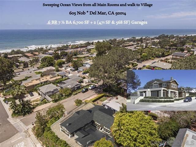 605 Nob, Del Mar, CA 92014 (#200001774) :: Sperry Residential Group