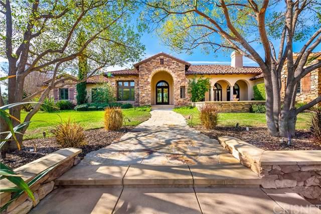 10753 W Stallion Ranch Road, Shadow Hills, CA 91040 (#SR20006457) :: The Brad Korb Real Estate Group