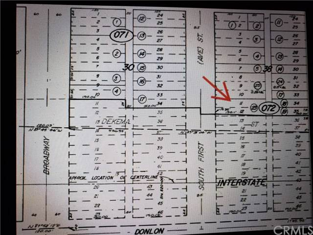 0 S. First Street, Blythe, CA  (#EV20007273) :: Sperry Residential Group