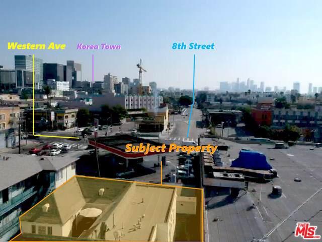 806 S Manhattan Place, Los Angeles (City), CA 90005 (#20543912) :: Millman Team