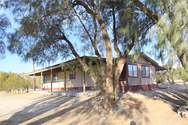 51162 Canyon Road, Morongo Valley, CA 92256 (#JT20010493) :: Allison James Estates and Homes