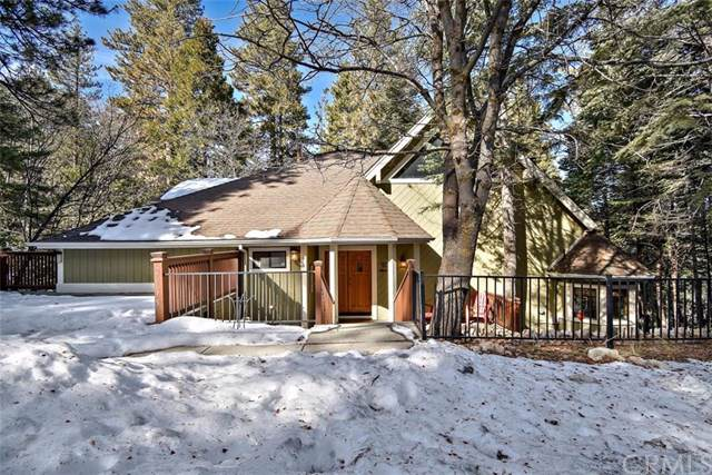 26675 Thunderbird Drive, Lake Arrowhead, CA 92352 (#EV20010852) :: The Bashe Team