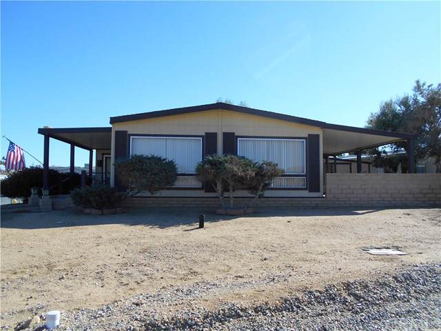 7501 Palm #118, Yucca Valley, CA 92284 (#JT20009261) :: Sperry Residential Group