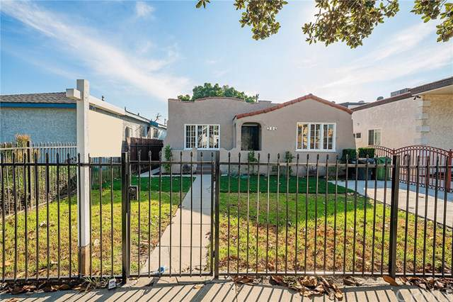 354 E 90th, Los Angeles (City), CA 90003 (#DW20011078) :: The Laffins Real Estate Team